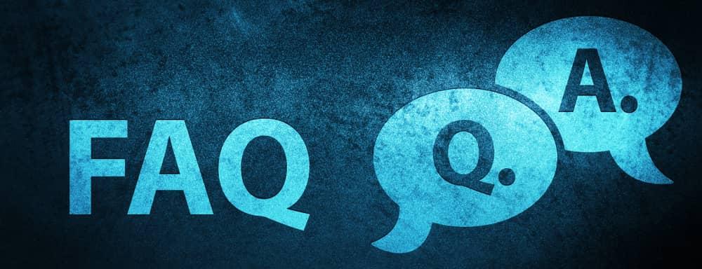 ありそうな質問FAQ